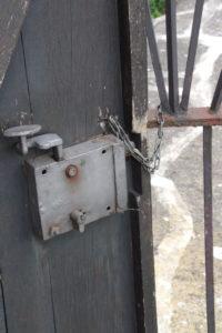 Die Tür ist verschlossen